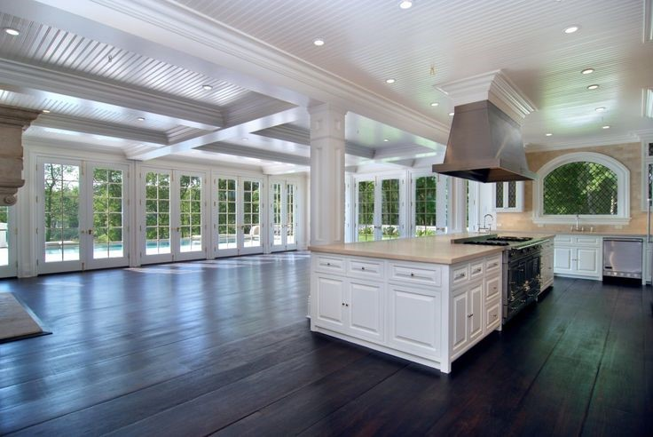 source: http://www.businessinsider.com.au/the-pond-house-east-hampton-2014-5?op=1#to-get-to-the-pond-house-you-drive-up-a-long-private-driveway-which-passes-under-the-homes-portico-entrance-1