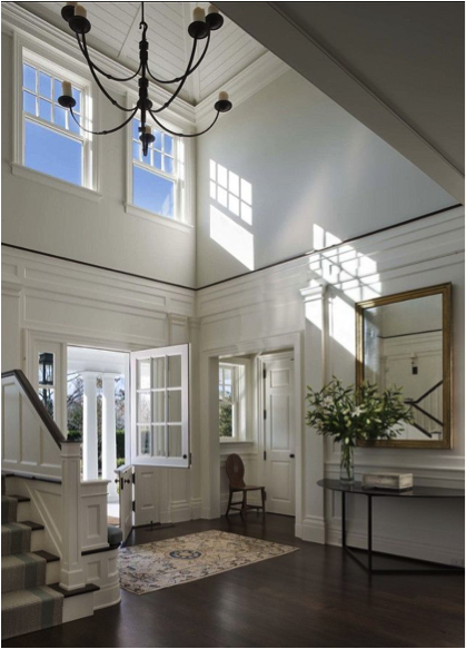 Natural Light in Classic Entry